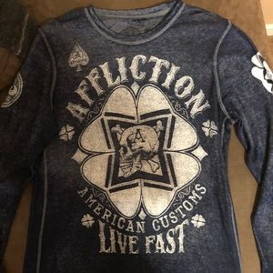 Long Sleeve Affliction Shirt